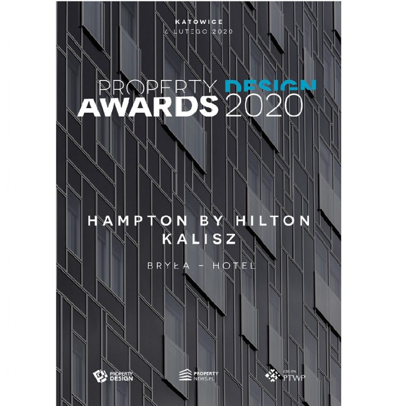 Nagroda Property Design Awards w kategorii Bryła